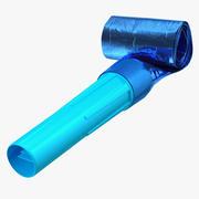 Blaue Luftpfeife 3d model