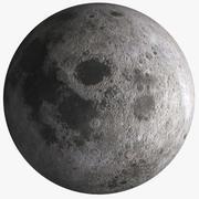Jordens måne 3d model