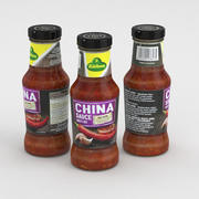Kuhne Chinese Saus 250ml 3d model