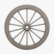 Roda de vagão 3d model