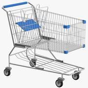 Carrinho de compras vazio 3d model