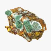 Muffa di carne Fetta Street Junk Pile Banana Drogheria Arancia Danno commestibile Prop Macble Polution 3d model