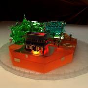 중국 고대 얼음 집 3d model