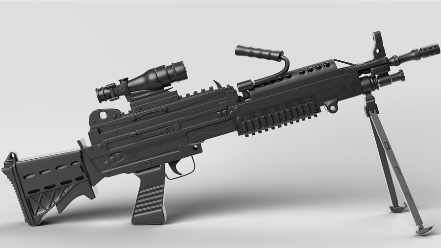 Arma modelo 3d royalty-free 3d model - Preview no. 4