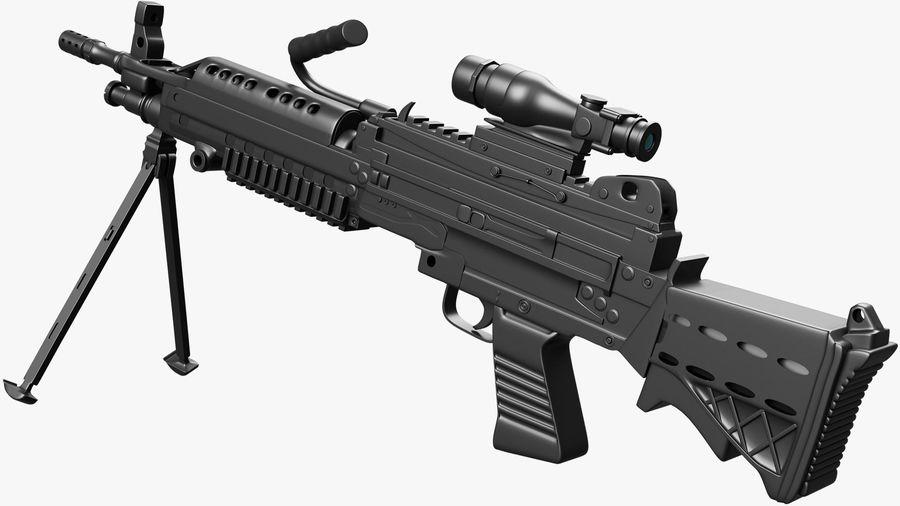 Arma modelo 3d royalty-free 3d model - Preview no. 2