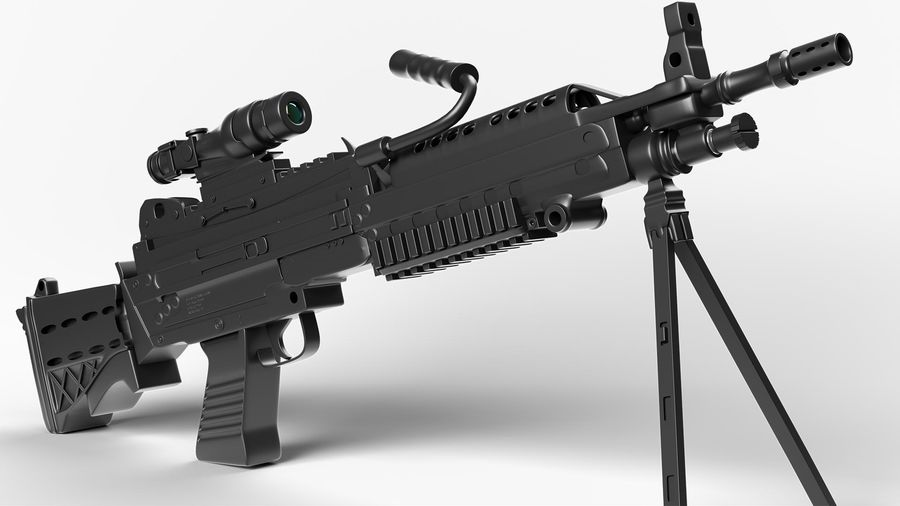 Arma modelo 3d royalty-free 3d model - Preview no. 5