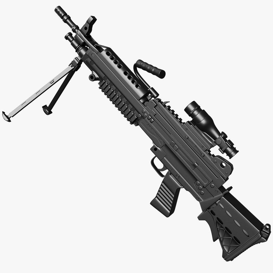 Arma modelo 3d royalty-free 3d model - Preview no. 1