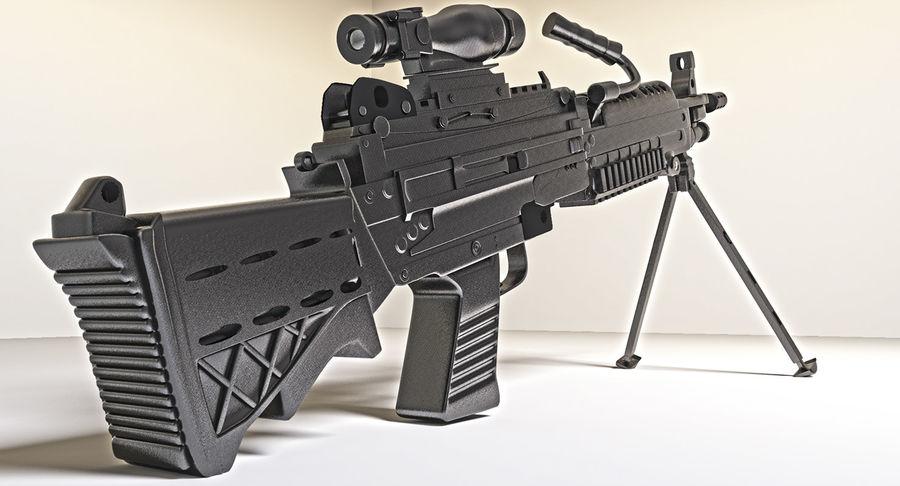 Arma modelo 3d royalty-free 3d model - Preview no. 12