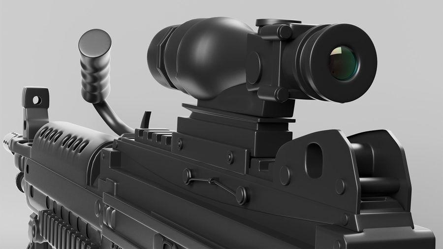 Arma modelo 3d royalty-free 3d model - Preview no. 8