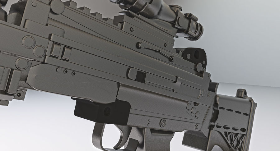 Arma modelo 3d royalty-free 3d model - Preview no. 13