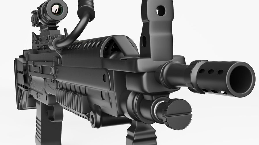 Arma modelo 3d royalty-free 3d model - Preview no. 11