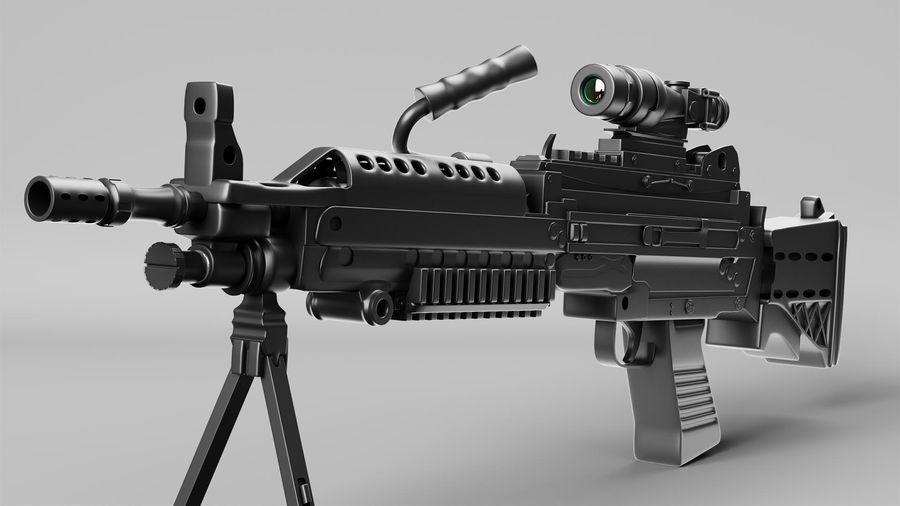 Arma modelo 3d royalty-free 3d model - Preview no. 3