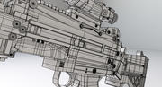 枪3D模型 3d model