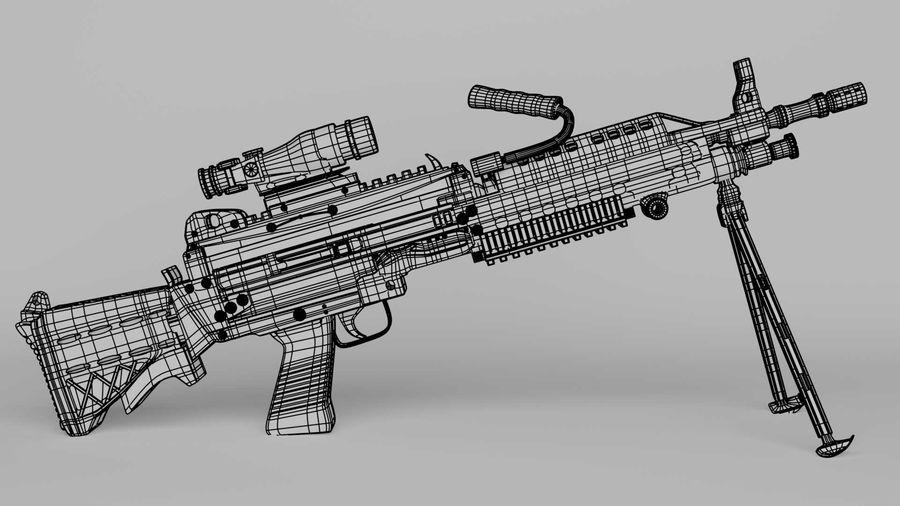 Arma modelo 3d royalty-free 3d model - Preview no. 14