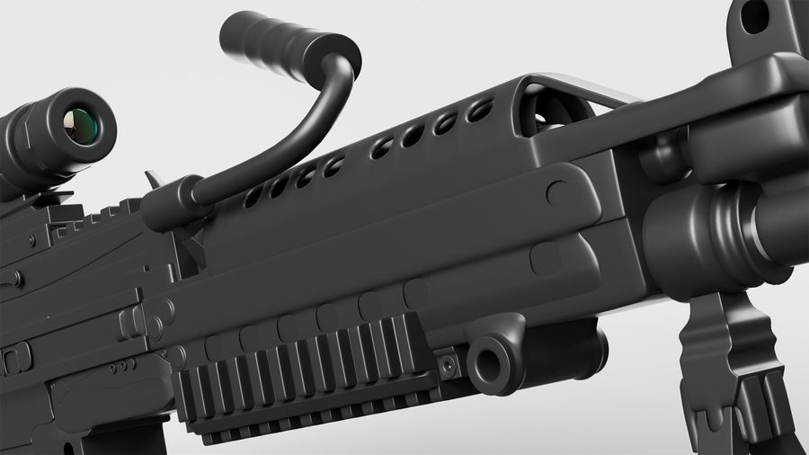 Arma modelo 3d royalty-free 3d model - Preview no. 6