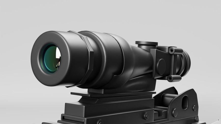 Arma modelo 3d royalty-free 3d model - Preview no. 7