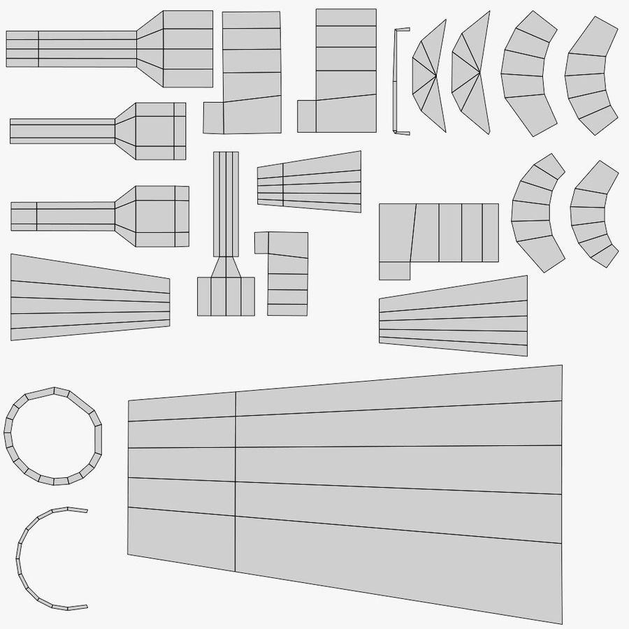 Arma modelo 3d royalty-free 3d model - Preview no. 17