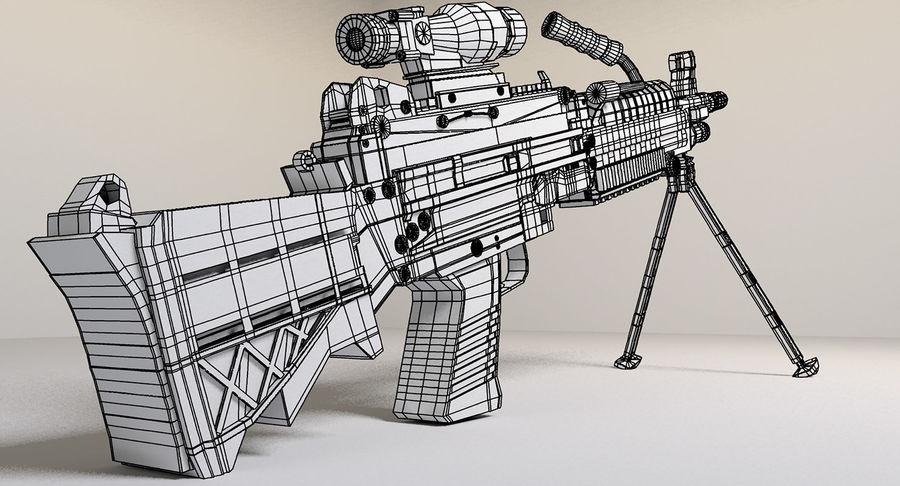 Arma modelo 3d royalty-free 3d model - Preview no. 15