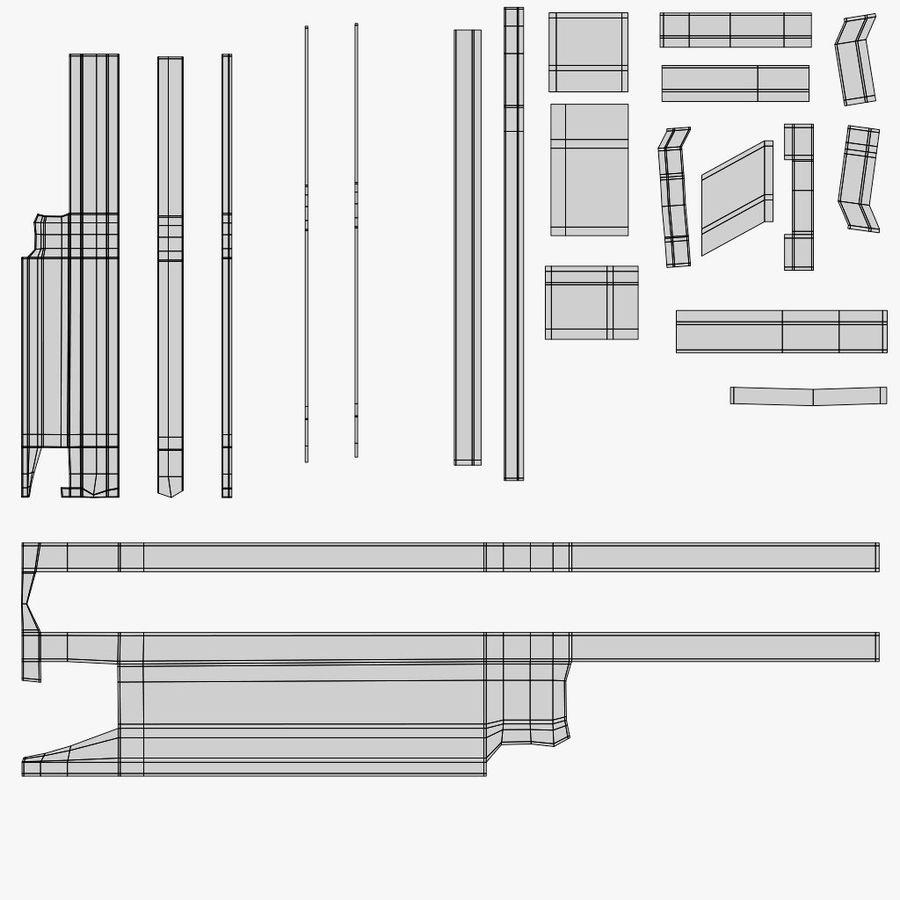 Arma modelo 3d royalty-free 3d model - Preview no. 16
