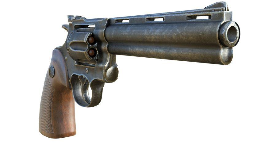 Colt Python royalty-free 3d model - Preview no. 4