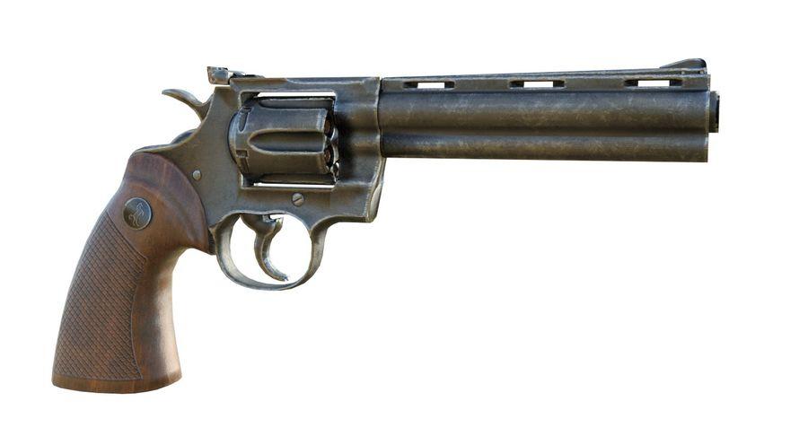 Colt Python royalty-free 3d model - Preview no. 5