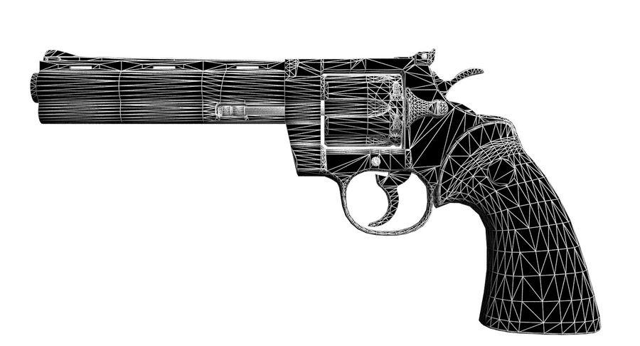 Colt Python royalty-free 3d model - Preview no. 9
