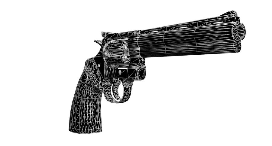 Colt Python royalty-free 3d model - Preview no. 11