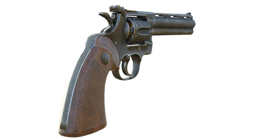 Colt Python royalty-free 3d model - Preview no. 6