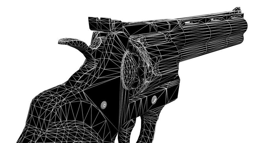 Colt Python royalty-free 3d model - Preview no. 13