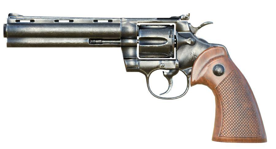 Colt Python royalty-free 3d model - Preview no. 1