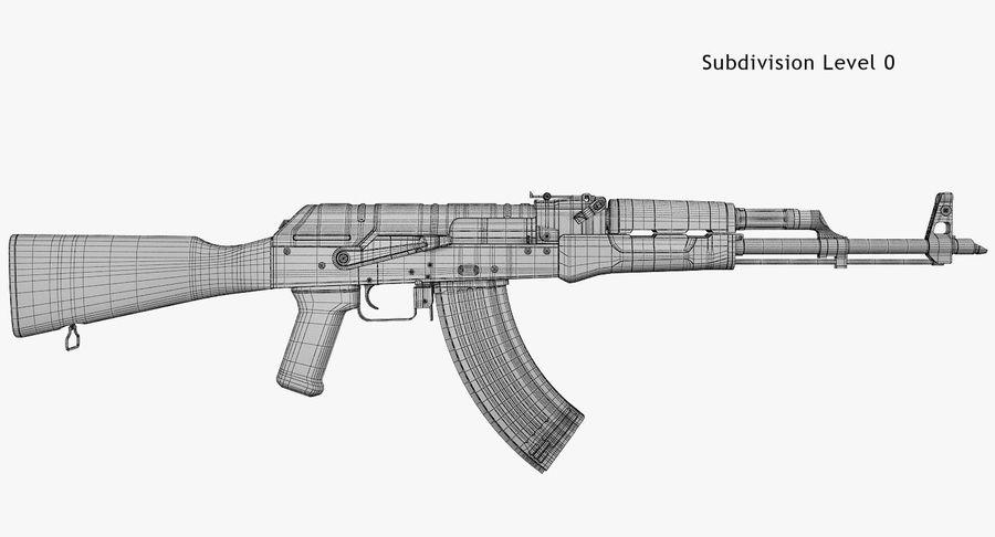 AKM royalty-free 3d model - Preview no. 7