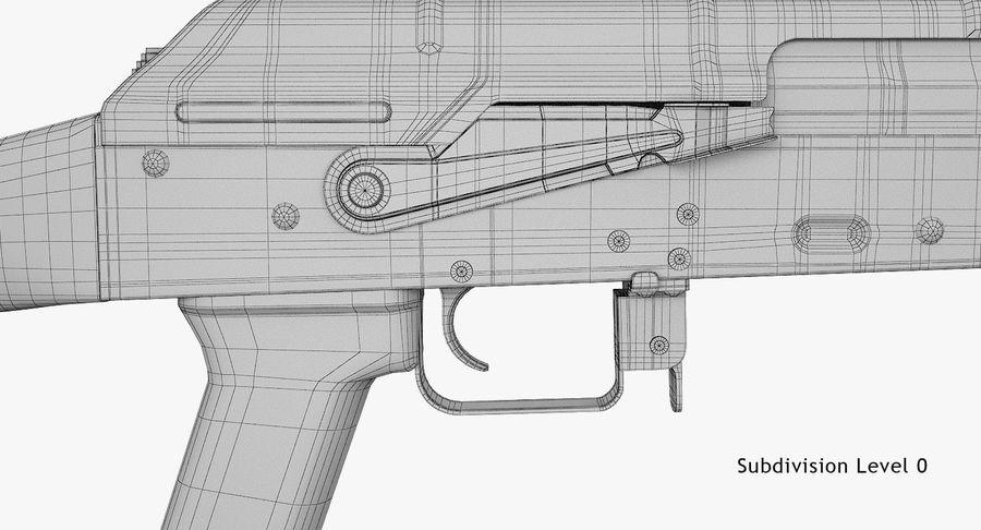 AKM royalty-free 3d model - Preview no. 17