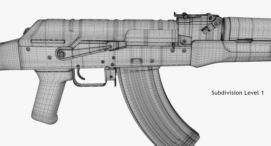 AKM royalty-free 3d model - Preview no. 12