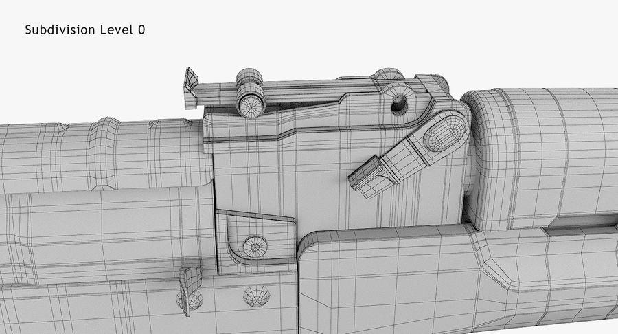 AKM royalty-free 3d model - Preview no. 13