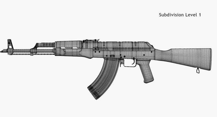 AKM royalty-free 3d model - Preview no. 10