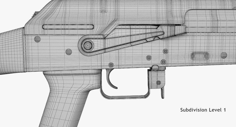 AKM royalty-free 3d model - Preview no. 18
