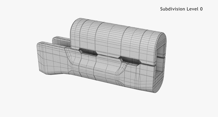 AKM royalty-free 3d model - Preview no. 23