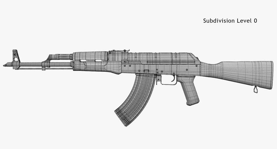 AKM royalty-free 3d model - Preview no. 9
