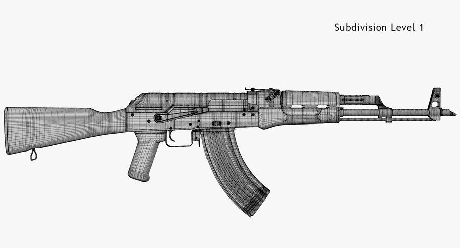 AKM royalty-free 3d model - Preview no. 8