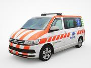 Ambulanza Volkswagen Transporter T6 3d model