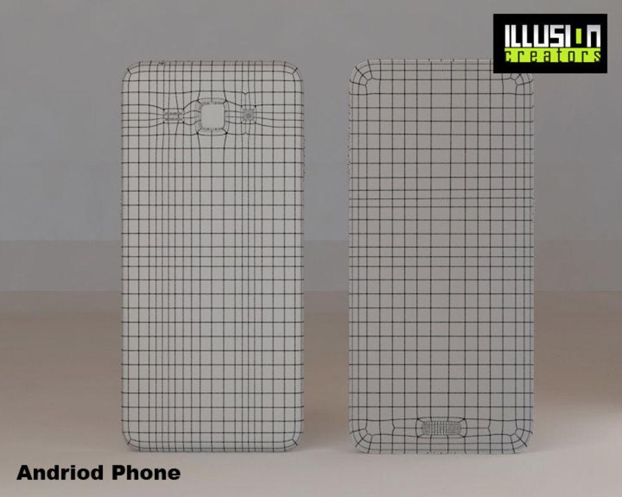 安卓手机 royalty-free 3d model - Preview no. 8