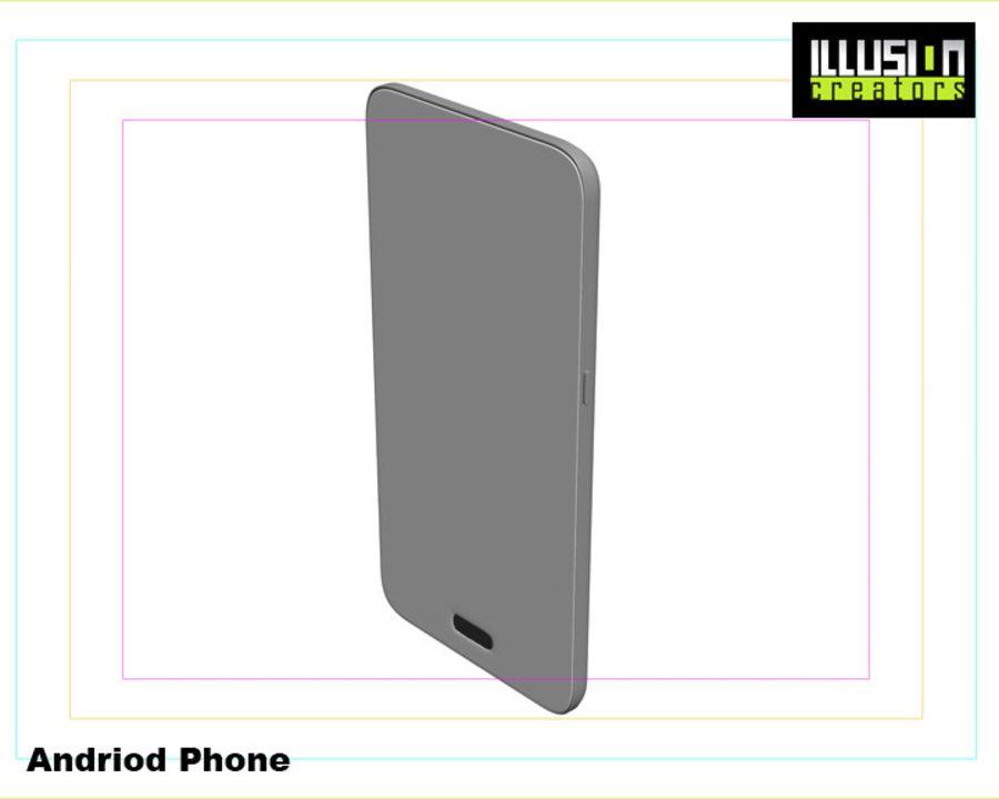 安卓手机 royalty-free 3d model - Preview no. 10