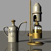 精神实验室灯 3d model