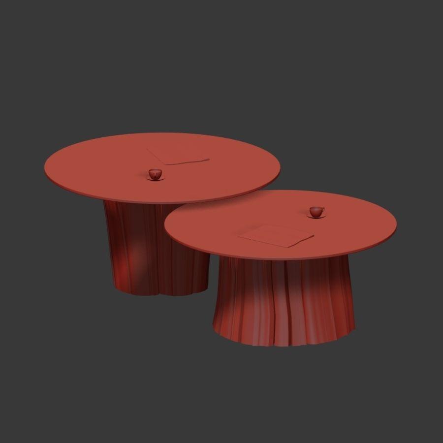 Glazen tafels van stronken royalty-free 3d model - Preview no. 28