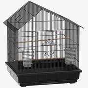 Jaula de pájaros modelo 3d