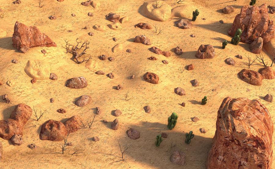 Ambiente desertico royalty-free 3d model - Preview no. 4