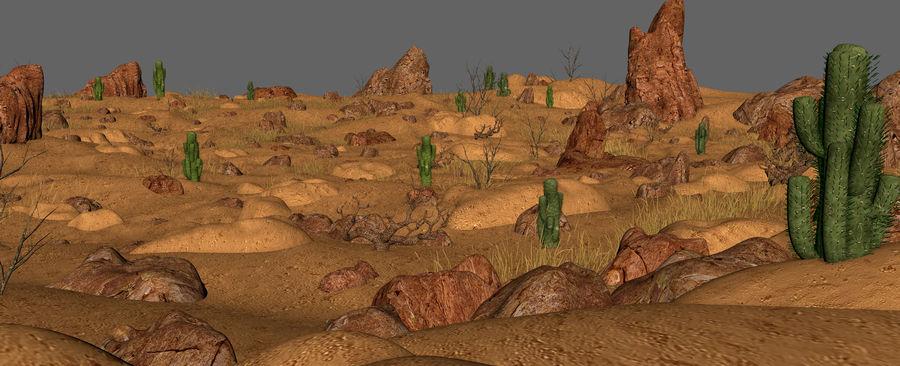 Ambiente desertico royalty-free 3d model - Preview no. 16