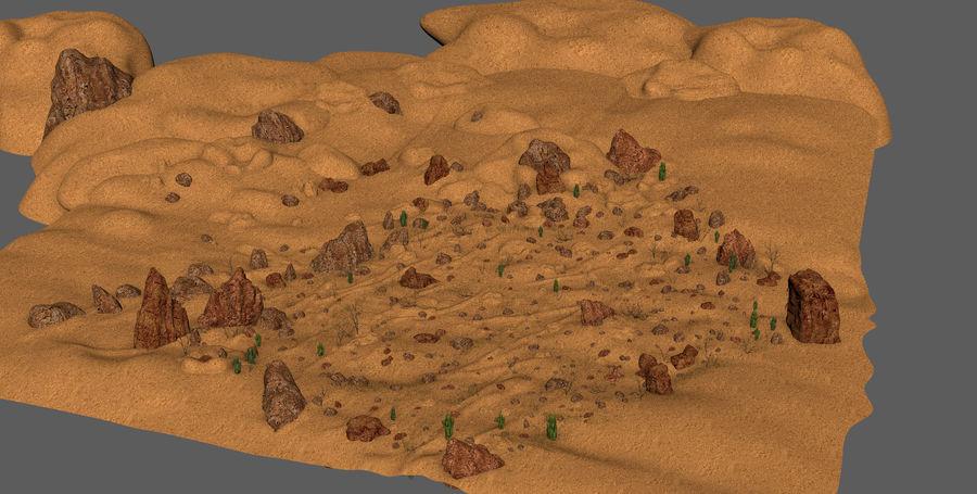 Ambiente desertico royalty-free 3d model - Preview no. 14