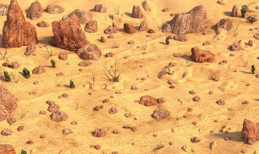 Ambiente desertico royalty-free 3d model - Preview no. 6