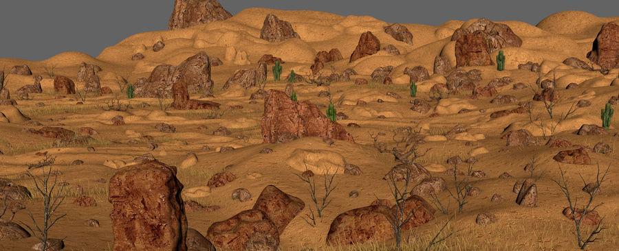 Ambiente desertico royalty-free 3d model - Preview no. 10